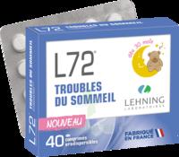Lehning L72 Comprimés Orodispersibles Plq Pvc/pvdc/alu/40 à VINEUIL