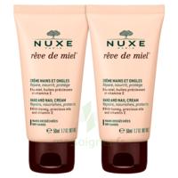 Rêve De Miel® Crème Mains Et Ongles 2*50ml à VINEUIL