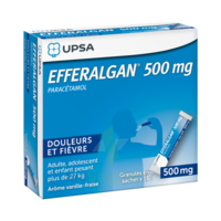Efferalgan 500 Mg Glé En Sachet Sach/16 à VINEUIL