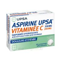 Aspirine Upsa Vitaminee C Tamponnee Effervescente, Comprimé Effervescent à VINEUIL