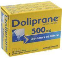 Doliprane 500 Mg Poudre Pour Solution Buvable En Sachet-dose B/12 à VINEUIL