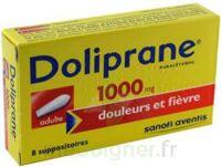 Doliprane 1000 Mg Suppositoires Adulte 2plq/4 (8) à VINEUIL