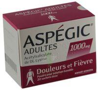 Aspegic Adultes 1000 Mg, Poudre Pour Solution Buvable En Sachet-dose 15 à VINEUIL