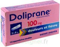 Doliprane 100 Mg Suppositoires Sécables 2plq/5 (10) à VINEUIL