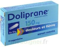 Doliprane 150 Mg Suppositoires 2plq/5 (10) à VINEUIL