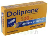 Doliprane 200 Mg Suppositoires 2plq/5 (10) à VINEUIL