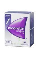 Nicorette Inhaleur 10 Mg Cartouche P Inh Bucc Inhalation Buccale B/42 à VINEUIL