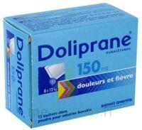 Doliprane 150 Mg Poudre Pour Solution Buvable En Sachet-dose B/12 à VINEUIL