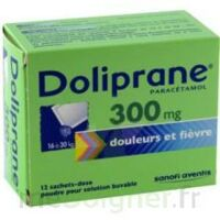 Doliprane 300 Mg Poudre Pour Solution Buvable En Sachet-dose B/12 à VINEUIL