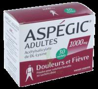 Aspegic Adultes 1000 Mg, Poudre Pour Solution Buvable En Sachet-dose 30 à VINEUIL
