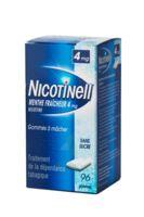 Nicotinell Menthe Fraicheur 4 Mg Sans Sucre, Gomme à Mâcher Médicamenteuse 8plq/12