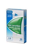 Nicorette 2 Mg Gom à Mâcher Médic Sans Sucre Menthe Glaciale Plq/30gom à VINEUIL