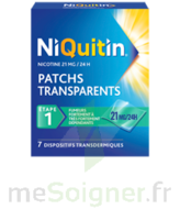Niquitin 21 Mg/24 Heures, Dispositif Transdermique Sach/7 à VINEUIL