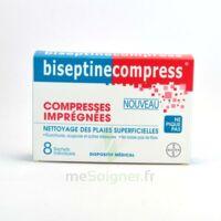 Biseptinecompress Compressses Impregnees, Bt 8 à VINEUIL