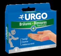 Urgo Brulures-blessures Petit Format X 6 à VINEUIL