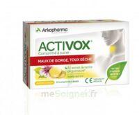 Activox Comprimés à Sucer Citron B/24 à VINEUIL