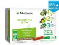 Arkofluide Bio Ultraextract Coffret Programme Détox 3x10 Ampoules/10ml à VINEUIL