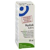 Hyabak 0,15 %, Fl 10 Ml à VINEUIL