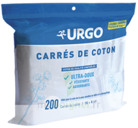 Urgo Carrés De Coton 8x10cm Non Stérile B/200 à VINEUIL