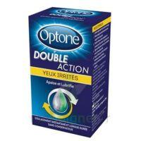 Optone Double Action Solution Oculaire Yeux Irrités Fl/10ml à VINEUIL