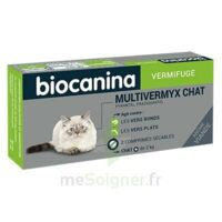 Biocanina Multivermyx Comprimés Vermifuge Chat B/2 à VINEUIL