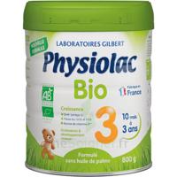 Physiolac Bio Lait 3éme Age 800g à VINEUIL