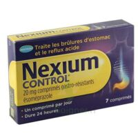 Nexium Control 20 Mg Cpr Gastro-rés Plq/7 à VINEUIL