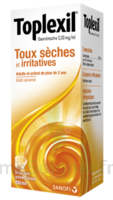 Toplexil 0,33 Mg/ml, Sirop 150ml à VINEUIL