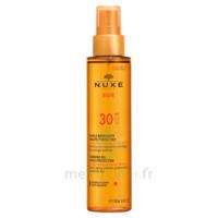 Huile Bronzante Haute Protection Spf30 Nuxe Sun150ml à VINEUIL