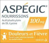 Aspegic Nourrissons 100 Mg, Poudre Pour Solution Buvable En Sachet-dose à VINEUIL