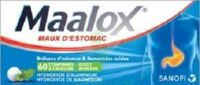 Maalox Hydroxyde D'aluminium/hydroxyde De Magnesium 400 Mg/400 Mg Cpr à Croquer Maux D'estomac Plq/60 à VINEUIL