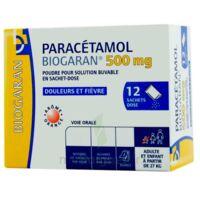 Paracetamol Biogaran 500 Mg, Poudre Pour Solution Buvable En Sachet-dose à VINEUIL