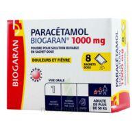 Paracetamol Biogaran 1000 Mg, Poudre Pour Solution Buvable En Sachet-dose