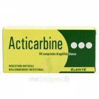 Acticarbine Comprimés Enrobés B/84 à VINEUIL