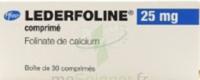 Lederfoline 25 Mg, Comprimé à VINEUIL