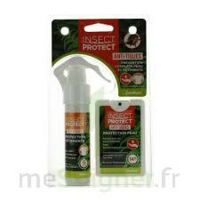 Insect Protect Spray Peau + Spray VÊtements Fl/18ml+fl/50ml à VINEUIL