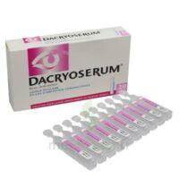 Dacryoserum Solution Pour Lavage Ophtalmique En Récipient Unidose 20unidoses/5ml à VINEUIL