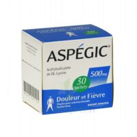 Aspegic 500 Mg, Poudre Pour Solution Buvable En Sachet-dose 30 à VINEUIL