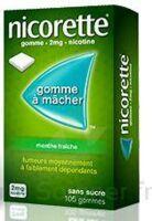 Nicorette 2 Mg Gom à Mâcher Médic Sans Sucre Menthe Fraîche Plq/30gom à VINEUIL