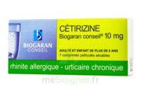 Cetirizine Biogaran Conseil 10 Mg, Comprimé Pelliculé Sécable à VINEUIL