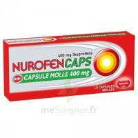 Nurofencaps 400 Mg Caps Molle Plq/10 à VINEUIL
