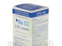 Sodium 0,9% Lav Inj Fv125ml 1 à VINEUIL