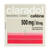 Claradol Cafeine 500 Mg/50 Mg, Comprimé Effervescent à VINEUIL