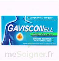 Gavisconell Coprimés à Croquer Sans Sucre Menthe édulcoré à L'aspartam Et à L'acésulfame Potas Plq/24 à VINEUIL