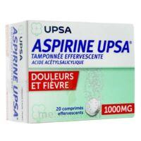 Aspirine Upsa Tamponnee Effervescente 1000 Mg, Comprimé Effervescent à VINEUIL