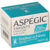 Aspegic Enfants 250, Poudre Pour Solution Buvable En Sachet-dose à VINEUIL