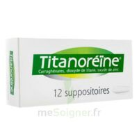 Titanoreine Suppositoires B/12 à VINEUIL