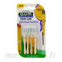 Gum Trav - Ler, 1,3 Mm, Manche Jaune , Blister 4 à VINEUIL