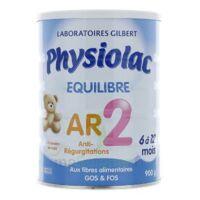 Physiolac Equilibre Ar 2 Lait Poudre 900g à VINEUIL
