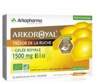 Arkoroyal Gelée Royale Bio 1500 Mg Solution Buvable 20 Ampoules/10ml à VINEUIL